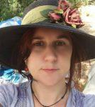 JoHanna rocking a lovely hat.